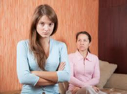 ссоры с дочкой