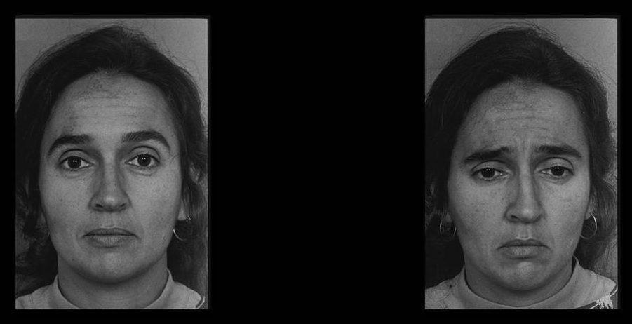 Лицо при депрессии, маска депрессии